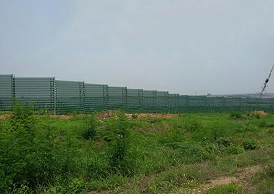 Wind Fence (for Solar Fields)